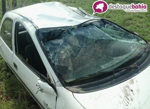 Pai e filho foram vitimas de mais um acidente na BR – 030 próximo a Vila Presidente Vargas