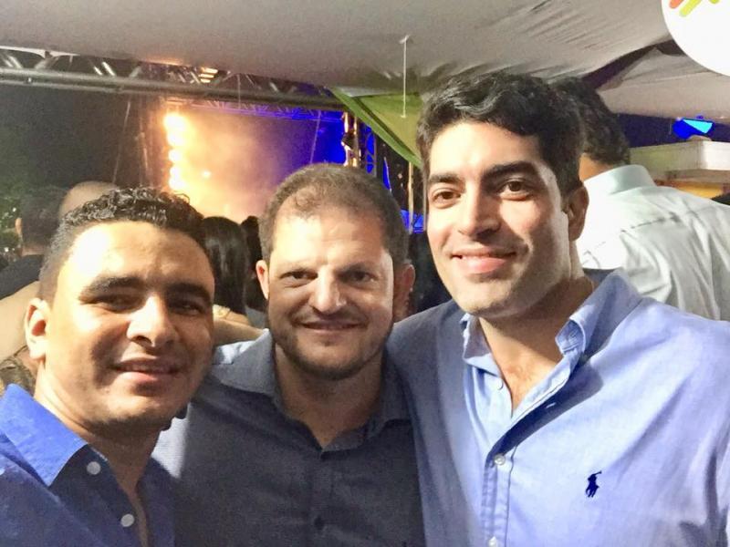 Receptividade do Prefeito Quinho no aniversário de Belo Campo arrancou elogios do público presente