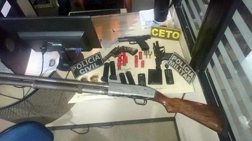 Grupo é preso suspeito de integrar facção criminosa em Guanambi
