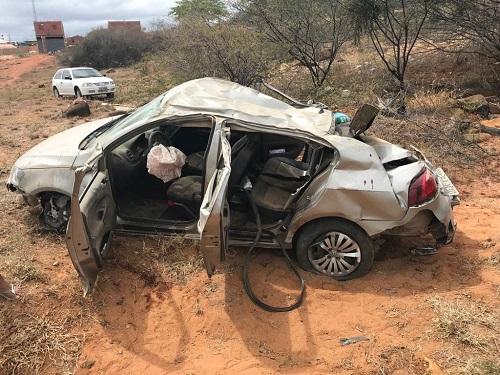 Guanambienses sofrem grave acidente na BR-030, trecho entre Brumado e Sussuarana