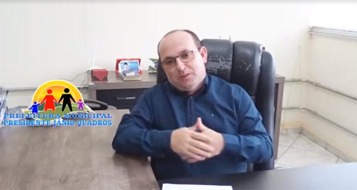 Prefeito de Presidente Jânio Quadros antecipa pagamento dos servidores