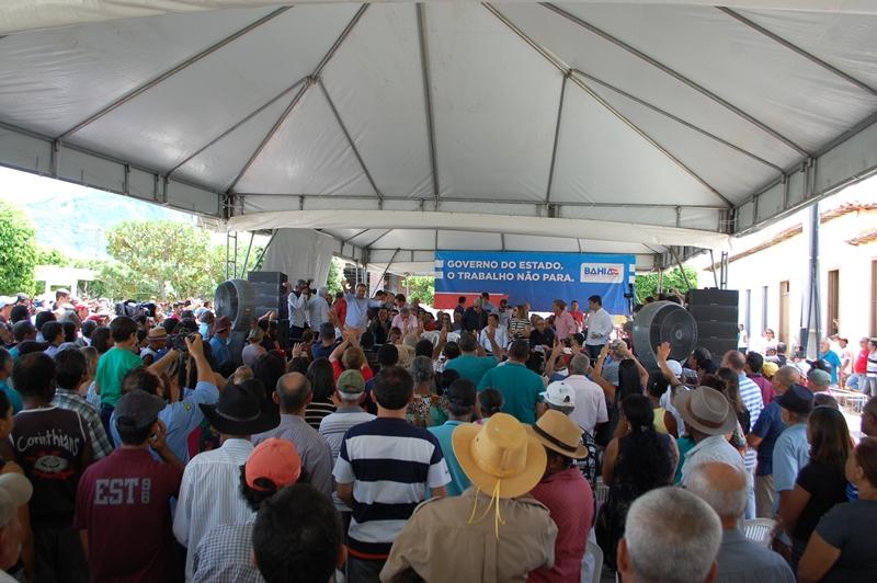 Em visita a Livramento, Rui anuncia estradas e sistema de abastecimento de água