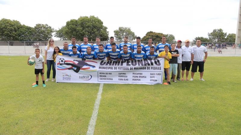 Abertura do Campeonato Municipal de Futebol é realizada em Malhada de Pedras