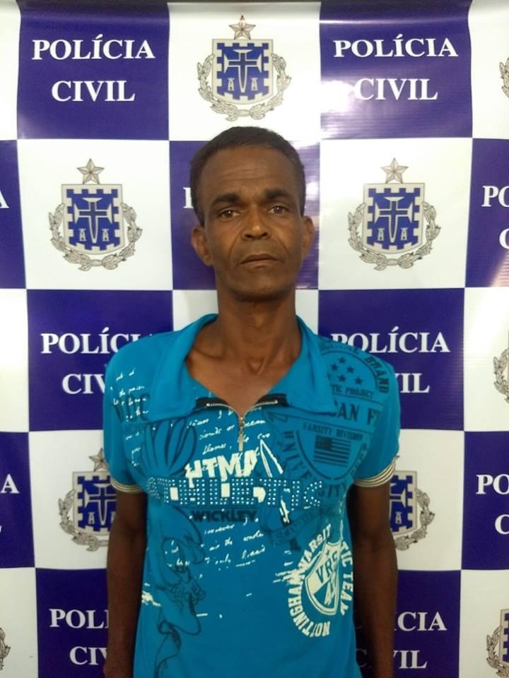 Polícia Civil prende homem que estuprou a própria filha em Livramento de Nossa Senhora