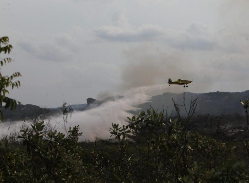 Chapada Diamantina: Corpo de Bombeiros sinaliza controle de incêndios