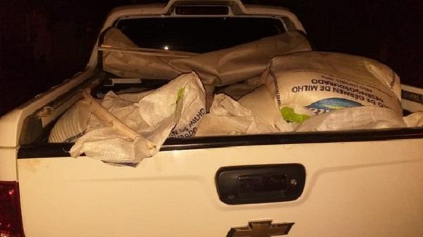 Meia tonelada de explosivos é encontrada em caminhonete na Bahia