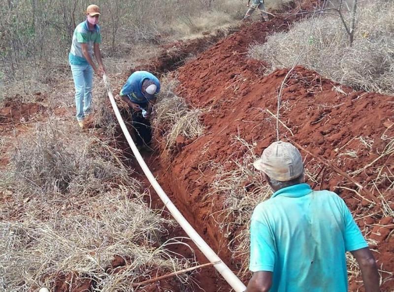 Guajeru:  Povoado de Guariba recebe implantação do Sistema Simplificado de Abastecimento de Água