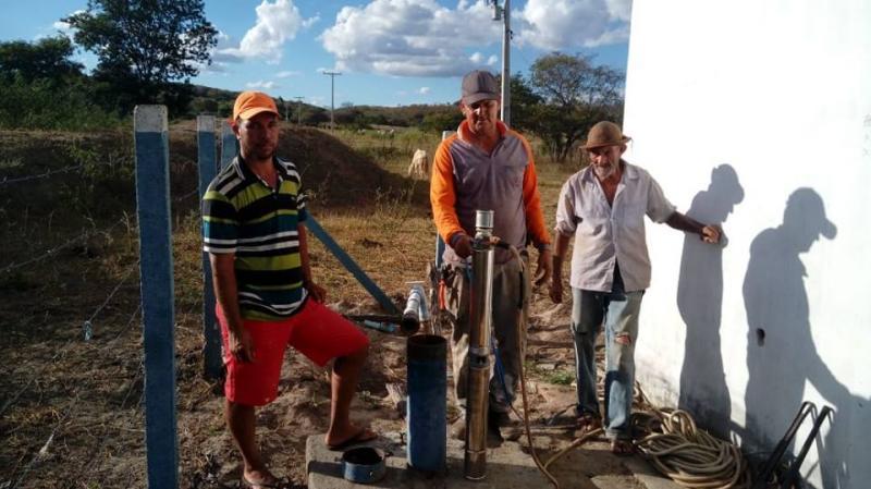 Prefeitura de Malhada de Pedras viabiliza mais instalações de poços artesianos na zona rural do município