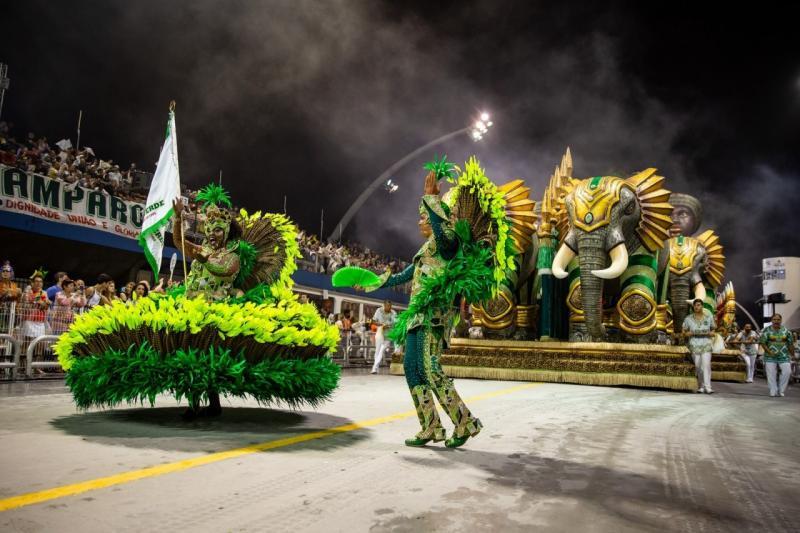 Mancha Verde vence o carnaval de São Paulo pela primeira vez na história