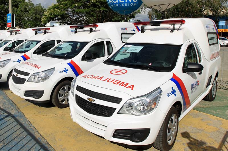 Município de Guajeru é contemplado com uma nova ambulância por emenda do deputado Vítor Bonfim