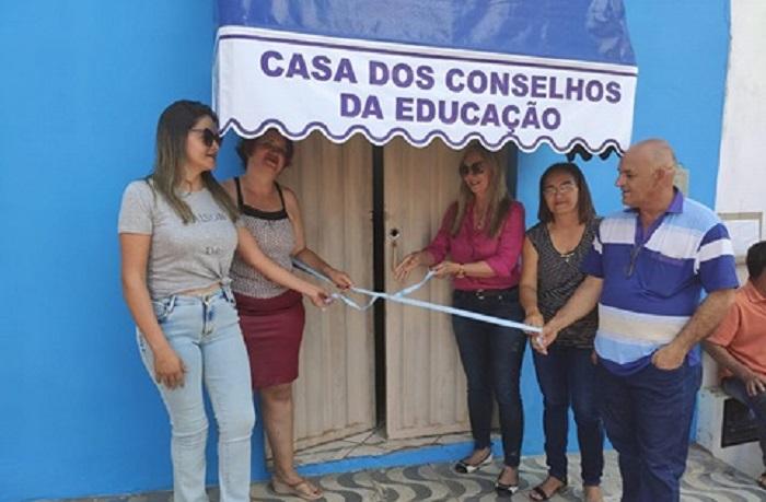 Casa dos Conselhos da Educação de Malhada de Pedras é inagurada no município