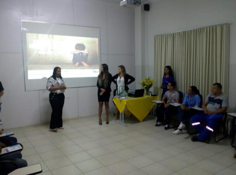 Brumado: SESOC e CREAS ministram palestra dentro da Campanha Nacional de Combate à Exploração Sexual de Crianças e Adolescentes