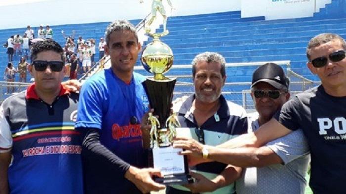 Sucesso total na grande final do Campeonato de Veteranos em Brumado