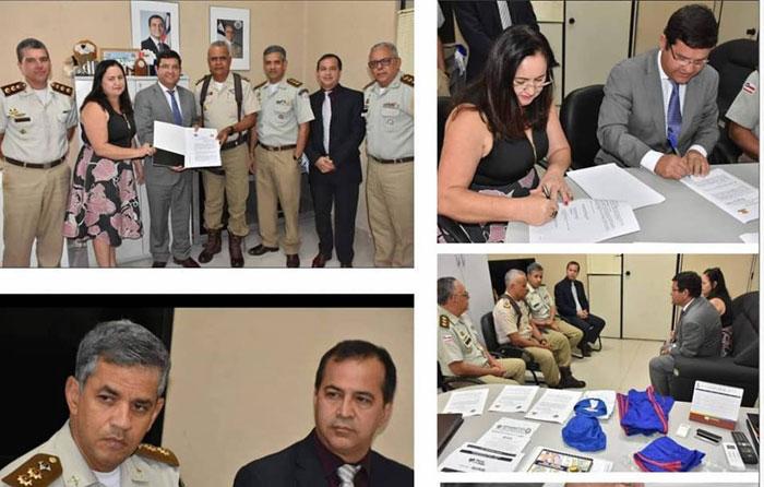 Salvador: Termo de Cooperação Técnica para a implantação do sistema militar em escola de Guanambi é assinado