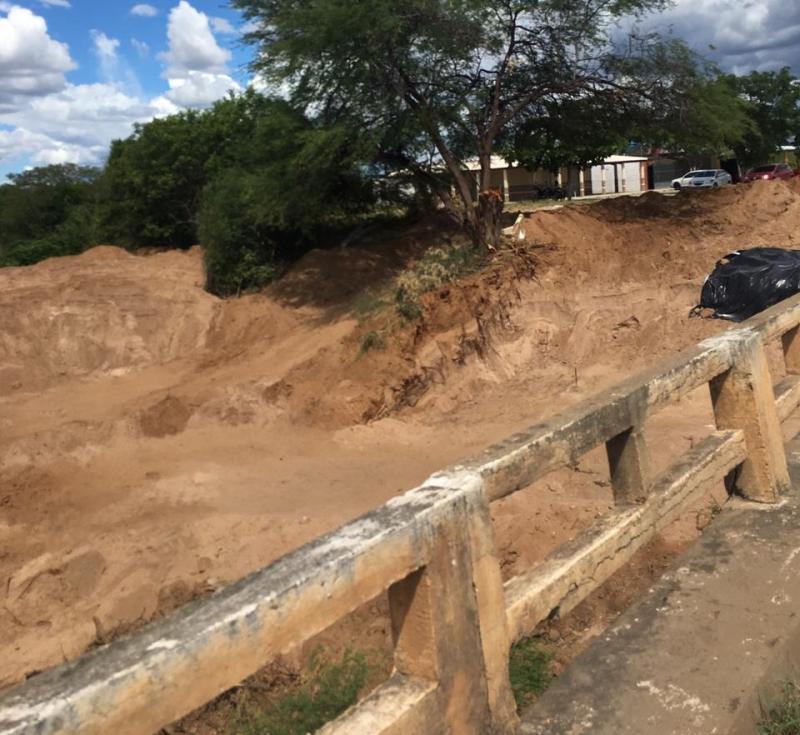 Empresa dá início às obras da nova ponte do distrito de Sussuarana, em Tanhaçu