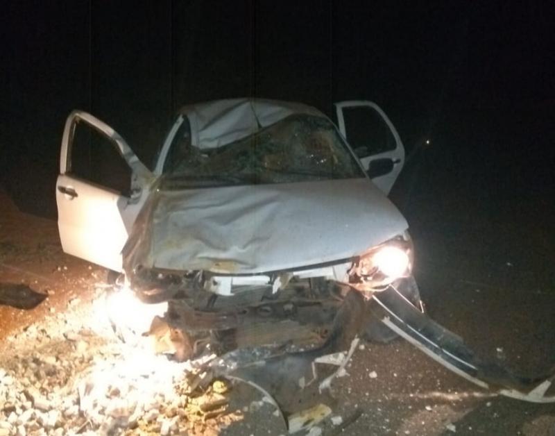 Acidente na rodovia que liga Malhada de Pedras a Rio do Antônio deixa uma vítima fatal e três feridos