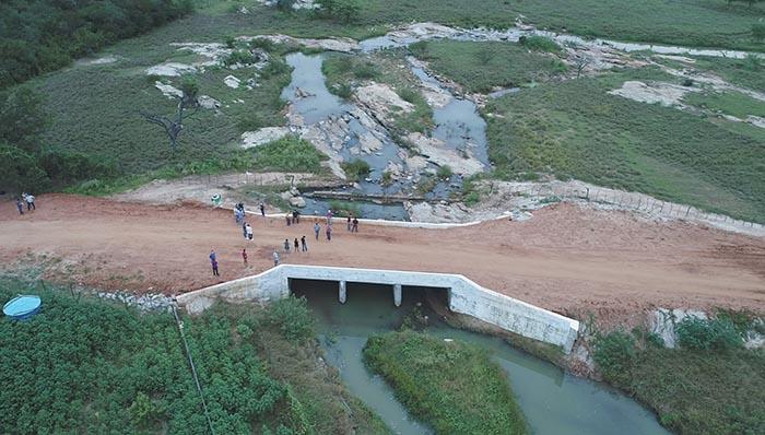 Prefeitura de Brumado realiza inauguração de Ponte na Fazenda Formosa