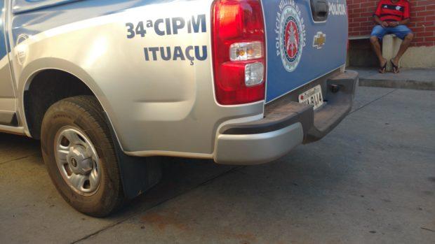 Ituaçu: Homem é preso após roubar mercado e causar tumulto durante abordagem policial