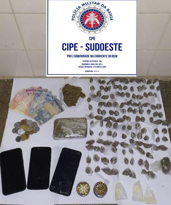 Dupla é presa acusada de Tráfico de Drogas em Presidente Jânio Quadros