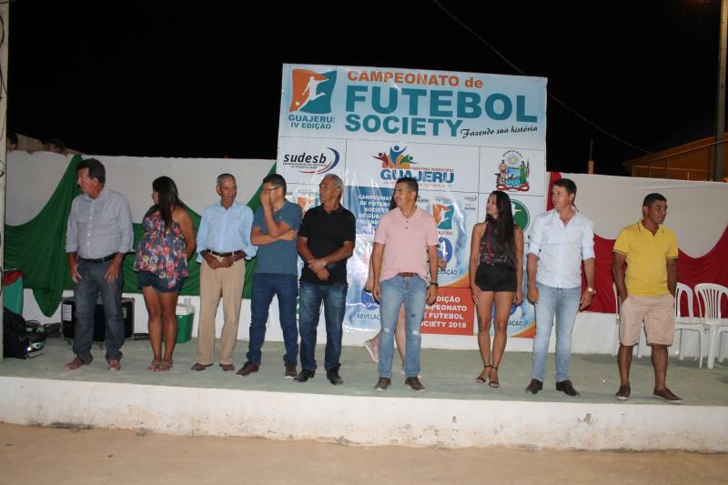 Guajeru: Prefeitura realiza 5º edição do Campeonato de Futebol Society