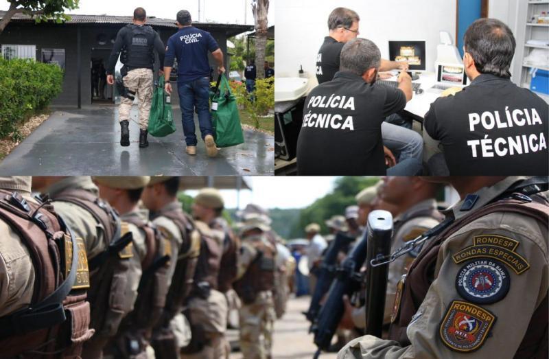 Governo libera R$33,9 milhões para policias por redução de crimes