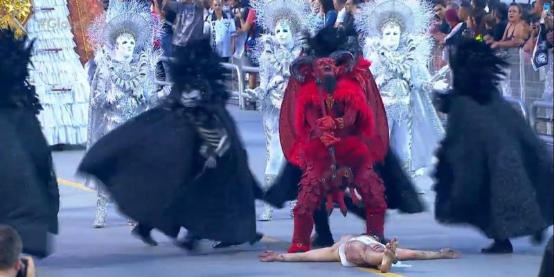 Gaviões da Fiel apresenta enredo em que o 'diabo vence Jesus' e gera revolta nas redes sociais