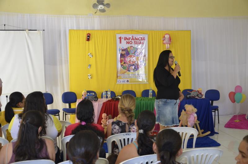 Malhada de Pedras: Programa Primeira Infância no Suas é apresentado a população