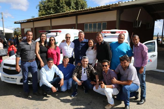 Governo do Estado contempla Rio do Antônio com duas ambulâncias e equipamentos para a saúde