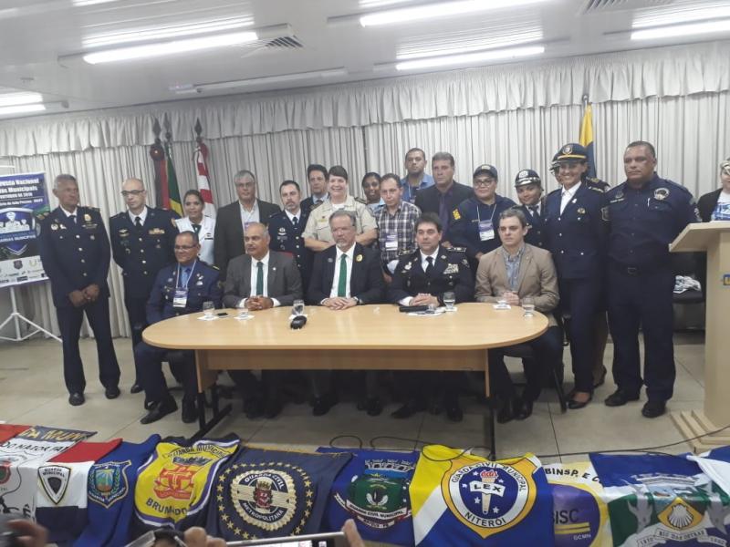 Guarda Municipal representa Brumado no encontro nacional em João Pessoa, na Paraíba