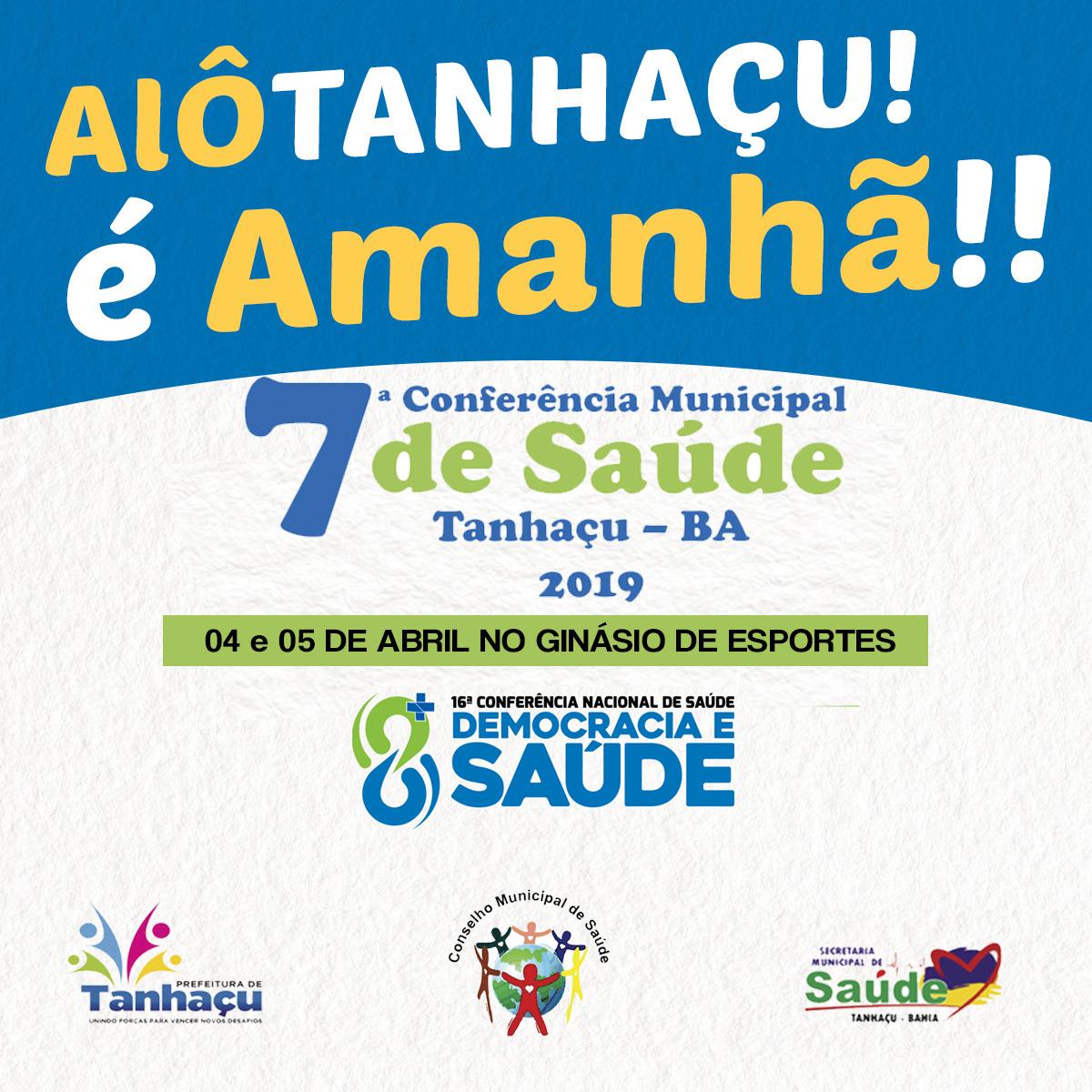 Secretaria de Saúde de Tanhaçu realizará a 7ª Conferência Municipal de Saúde do município; veja o vídeo