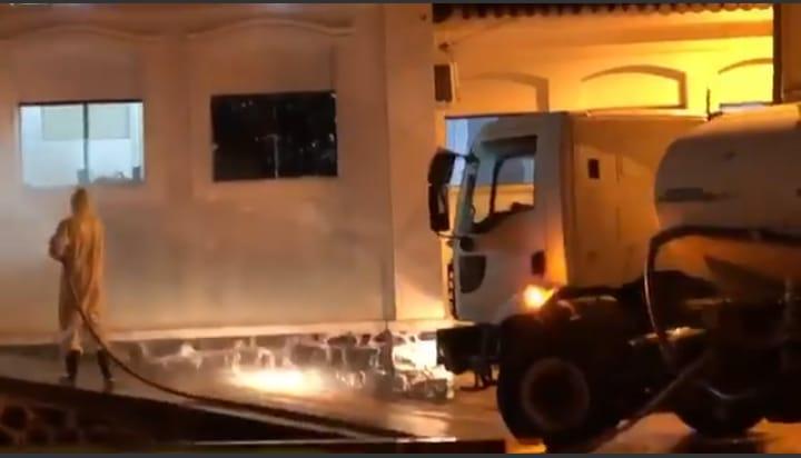 Ruas de Ituaçu são desinfetadas com hipoclorito