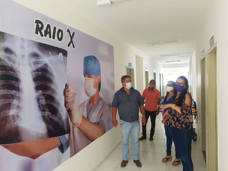 Prefeitura de Rio do Antônio adquire com recursos próprios Raio X para UBS Lagoa do Barro