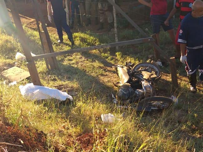 Homem morre em acidente motociclístico em Livramento