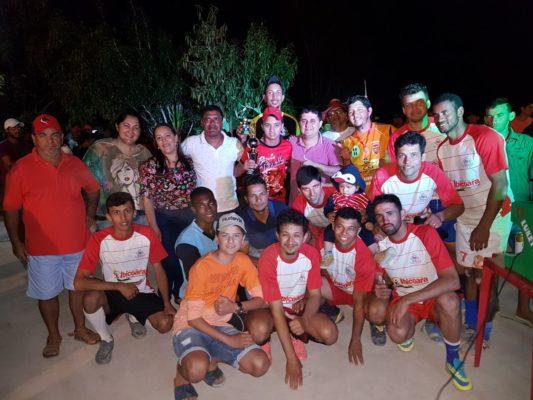 Barra da Estiva: Gestão prestigia final do Campeonato de Futsal da comunidade de Paraguaçu