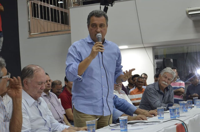 Prefeita de Aracatu participa da Caravana do PGP com Rui Costa em Brumado