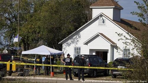 Igreja palco de massacre no Texas será demolida