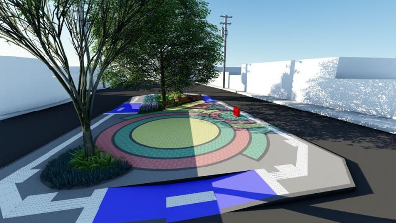 Malhada de Pedras: prefeitura inicia requalificação da Praça Quadrangular