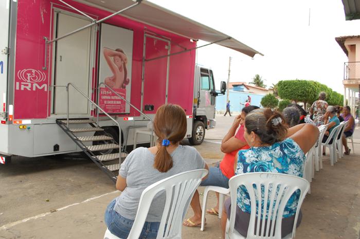 Programa de Rastreamento do Câncer de Mama atendeu mais 300 mulheres em Malhada de Pedras