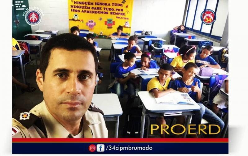 34ª CIPM desenvolve programa de resistência as drogas e a violência em Brumado