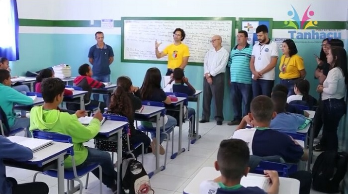 Tanhaçu recebe representantes do Projeto MPEduc; unidades escolares foram elogiadas