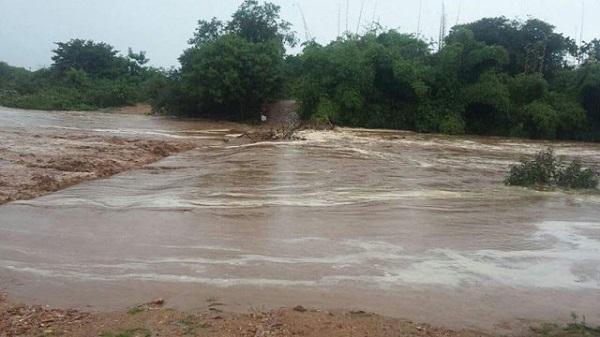 Chuvas renovam águas do Rio das Contas e abastecem barragem de Cristalândia