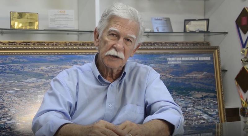 Brumado: Prefeito Eduardo parabeniza o município e deixa mensagem aos brumadenses; veja o vídeo