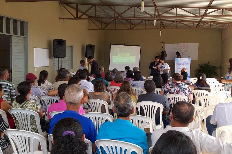 Guajeru realiza eventos setoriais de diagnóstico e prognóstico para a elaboração do Plano Municipal de Saneamento Básico