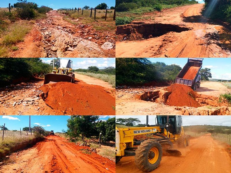 Prefeitura de Brumado inicia megaprojeto de requalificação das estradas vicinais do município
