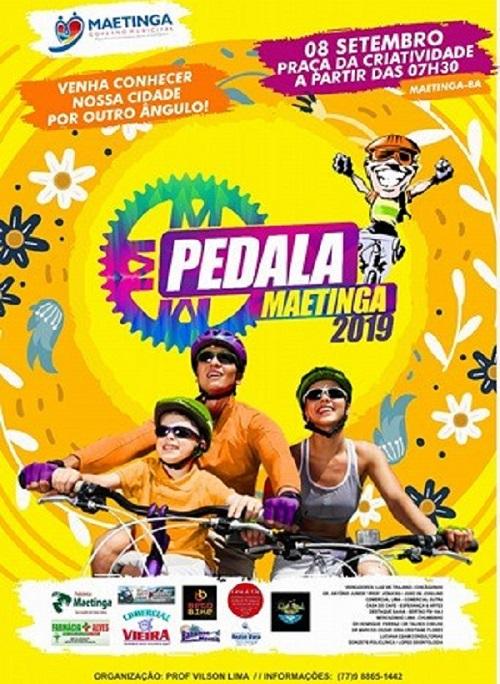 Pedala Maetinga 2019 acontece em setembro