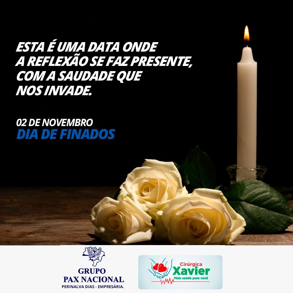 Uma mensagem do Grupo Pax Nacional e Cirúrgica Xavier