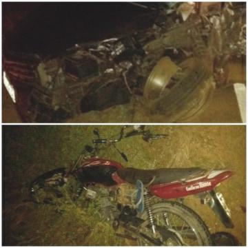 Colisão entre moto e carro mata jovem na BA-152 em Livramento de Nossa Senhora