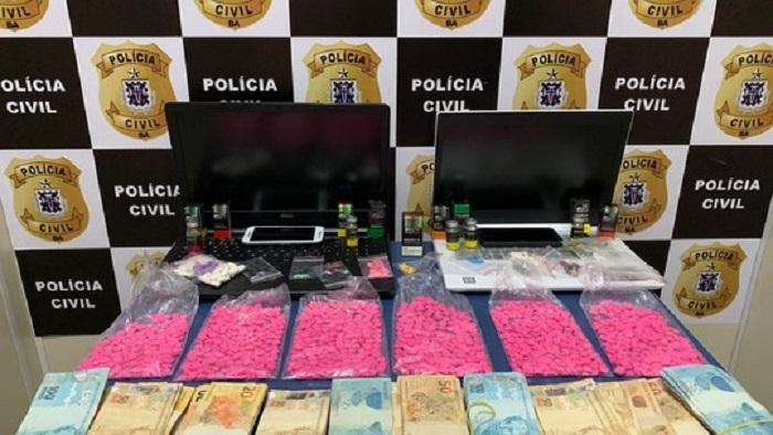Homem é preso suspeito de comercializar anabolizantes e drogas sintéticas em Vitória da Conquista