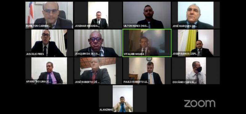 Câmara Municipal de Livramento realiza a primeira sessão por videoconferência