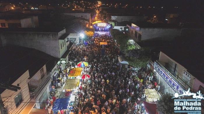 Sucesso: Festa da virada de ano em Malhada de Pedras contou com milhares de pessoas